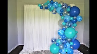 Marble Balloon Garland DIY | How To