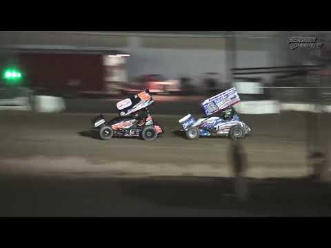 Fremont Speedway 410 Sprint Car Feature - 9/9/17