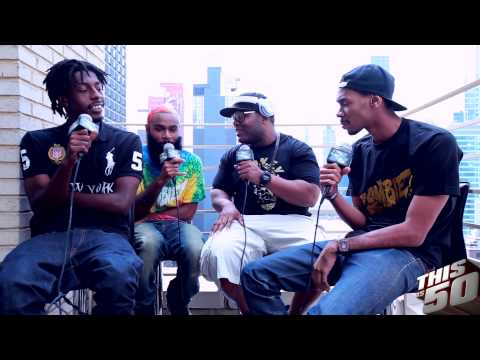 Flatbush ZOMBiES Talk Crazy Groupie Sniffing Clorox, A$AP Rocky & D.R.U.G.S