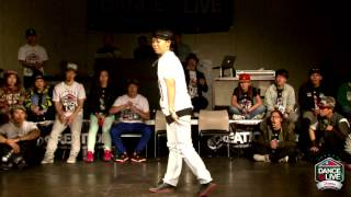 Freestyle Judge Solo - LoCo YoKo | DANCE@LIVE ASIA 2013 TAIWAN 第2戰