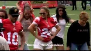 Jennifer Lopez Dancing 'Gangnam Style' 22/12/12