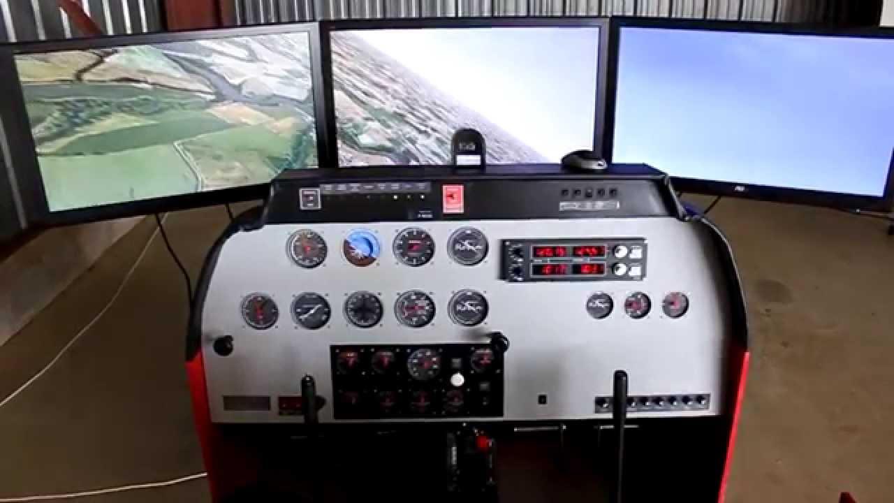 simulateur dr400 maison simulator home cockpit robin. Black Bedroom Furniture Sets. Home Design Ideas