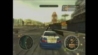 Need for Speed Most Wanted Xbox Gameplay - Aim for the