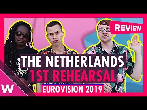 "The Netherlands First Rehearsal: Duncan Laurence ""Arcade"" @ Eurovision 2019 (Reaction)"