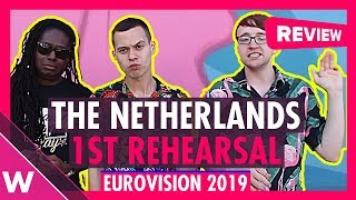 The Netherlands First Rehearsal: Duncan Laurence