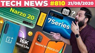 realme Narzo 20 Coming, OnePlus Nord Lite @16K, realme 7 Series XX Sept?, Redmi 9 = POCO C3-#TTN810