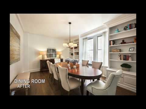 Home Staging: Manhattan - Grand and Gracious Classic Seven Co-op on Park Avenue!!