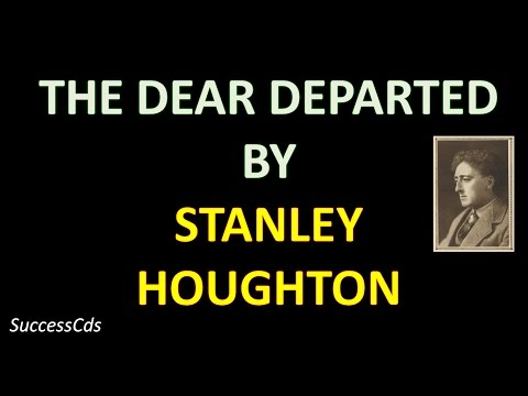 The Dear Departed Summary, Explanation, Difficult Words, Class 10