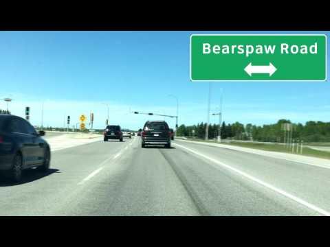 Alberta Highway 1A - Calgary to Cochrane
