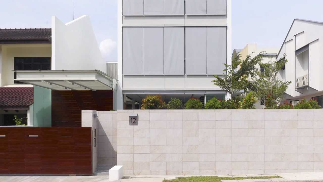 Creating Indoor Outdoor Living Space With A Pool On A Tight Site In This  Singapore Semi Detached Lot
