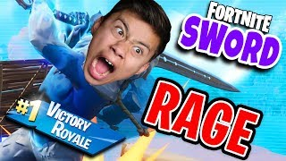 FORTNITE SWORD RAGE!!! Infinity Blade is Out of Control!