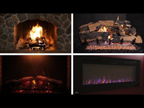 Wood, Gas, or Electric - Which fire place is right for me?