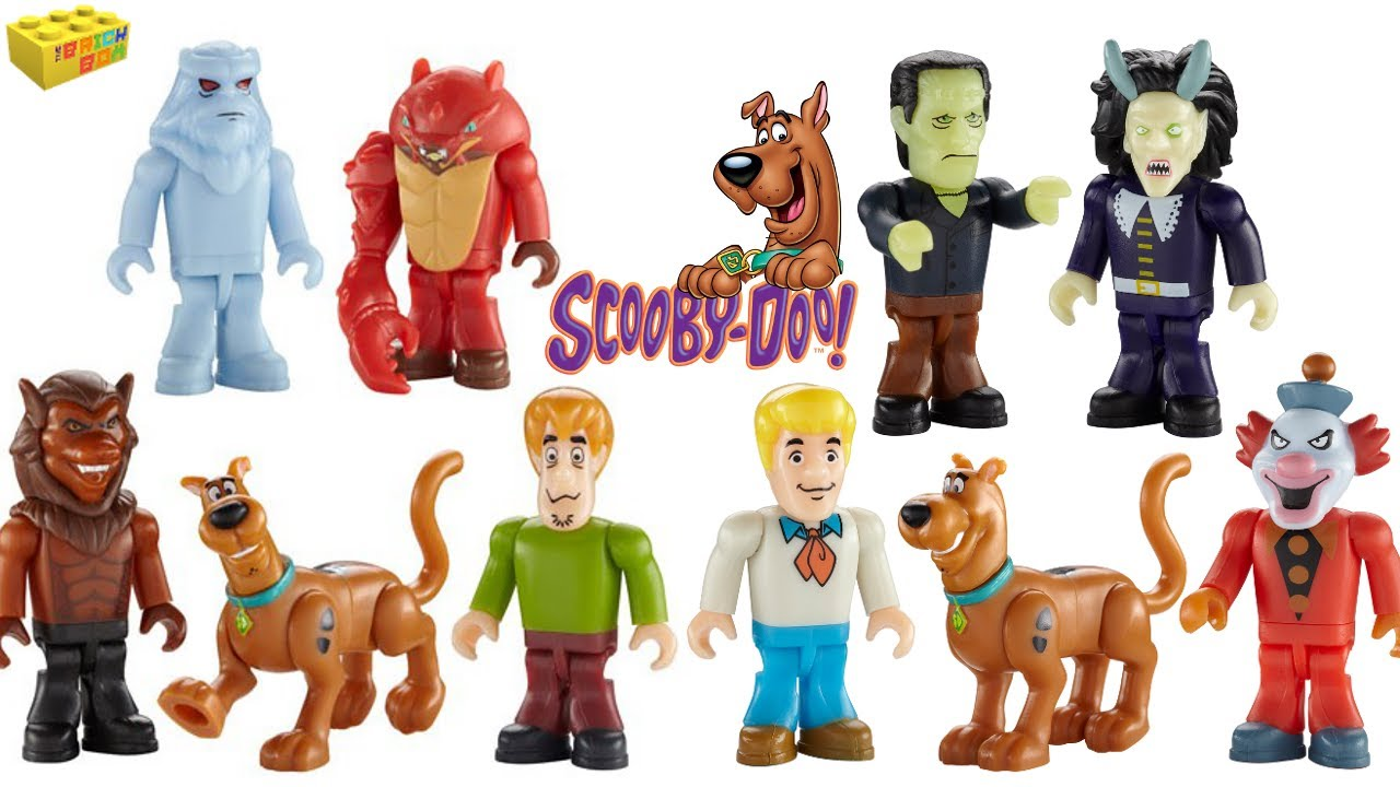 scoobydoo micro figures 5 figure pack review character
