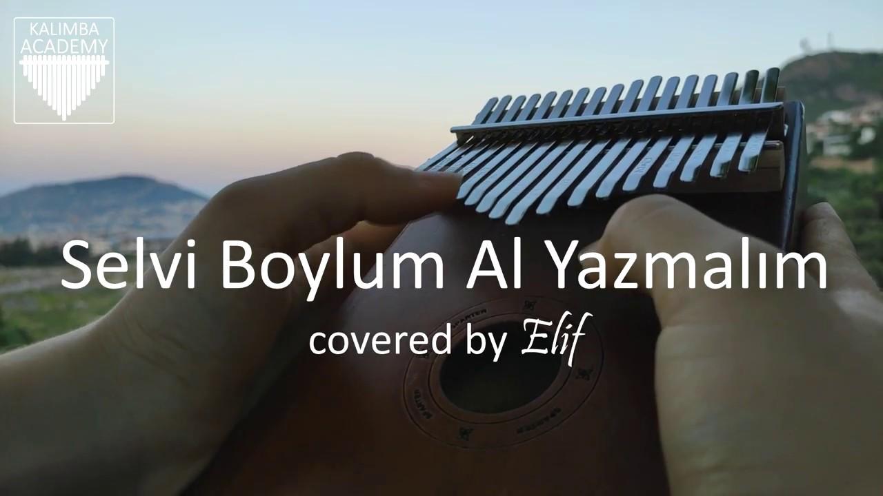 Selvi Boylum Al Yazmalım - Cahit Berkay (Kalimba Cover)