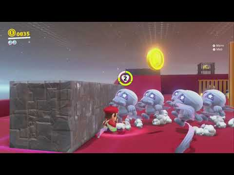 The Mummy Army's Curse ~ Ruined Kingdom ~ Super Mario Odyssey ~ No Commentary