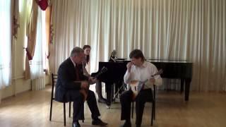 2014 год Открытый урок В Г Урбанович (балалайка)