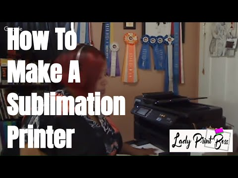 How to Make A Sublimation Printer