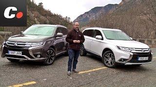 Mitsubishi Outlander SUV | PHEV vs Diesel | Prueba / Test / Review en español | coches.net