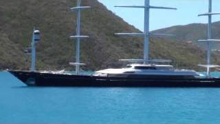 Tom Perkins's Mega-yacht The Maltese Falcon
