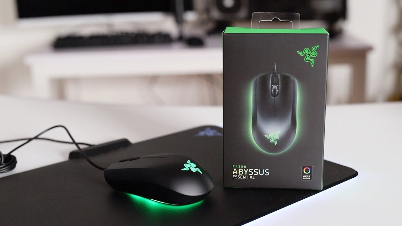 Razer Abyssus Essential Razer S Most Basic Gaming Mouse Youtube
