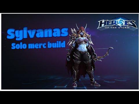 Heroes of the storm:Sylvanas solo mercenary build