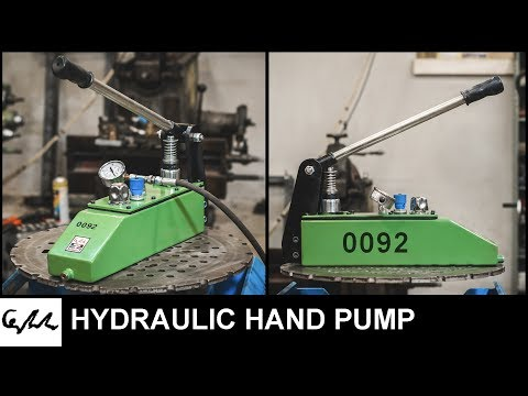 Making HYDRAULIC hand pump