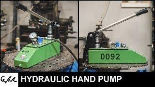 Making HYDRAULIC hand pump