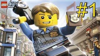 LEGO City Undercover (Wii U) прохождение часть 1 - Возвращение в Родной Город