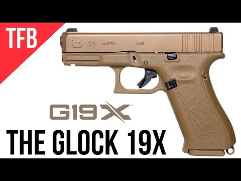 NEW GLOCK 19X: GLOCK's MHS Gun Released to the Public