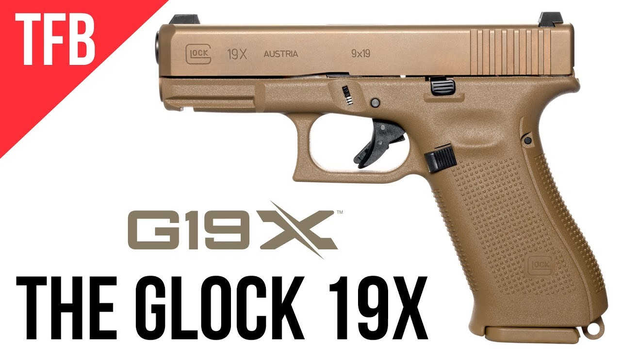 New Glock 19x Glock S Mhs Gun Released To The Public Youtube