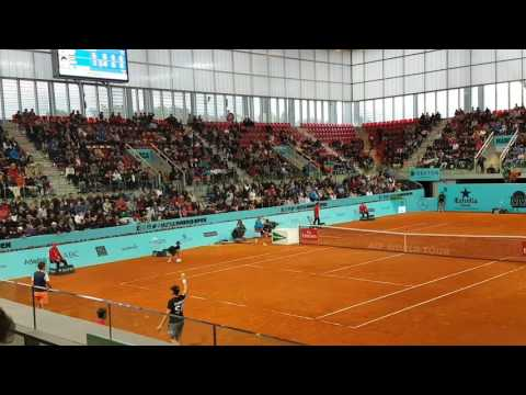 Dominic Thiem vs Grigor Dimitrov TIE BREAK 3rd SET Mutua Madrid Open 2017