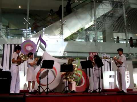 Second Ensemble (Secondary) from Munsang College @ Lok Fu Plaza - 20110618