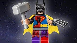 КАК СТАТЬ СУПЕРГЕРОЕМ? 5 СОВЕТОВ ОТ: Бэтмена, Человека паука  Вечерний Джокер №7 Лего мультики 2017