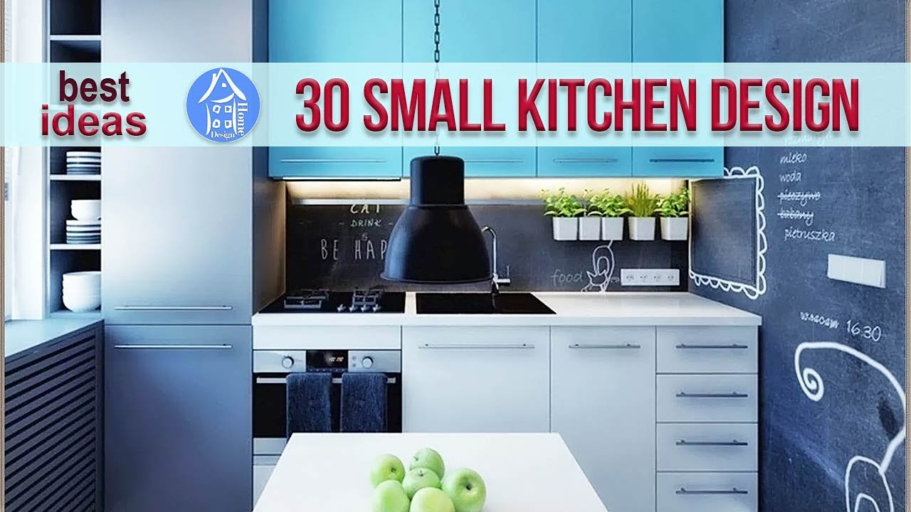 30 small kitchen design for small space beautiful design ideas small kitchen apartment youtube - Kitchen style for small space paint ...