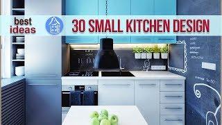 30 Small Kitchen Design For Small Space – Beautiful Design Ideas Small Kitchen Apartment