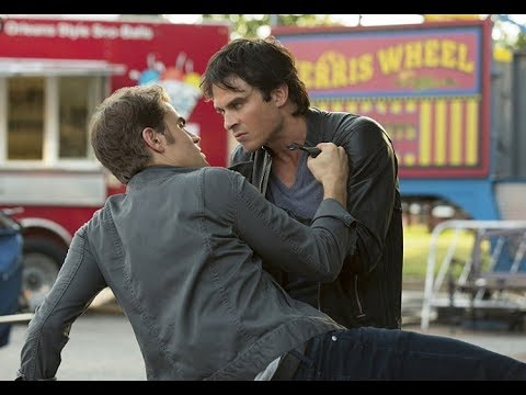 The Vampire Diaries Damon Season 8 Fight's And Abilities