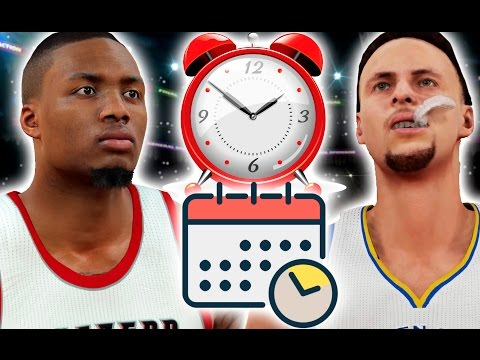 What If A Whole NBA Season Was Less Then 60 Minutes? NBA 2K17 Challenge