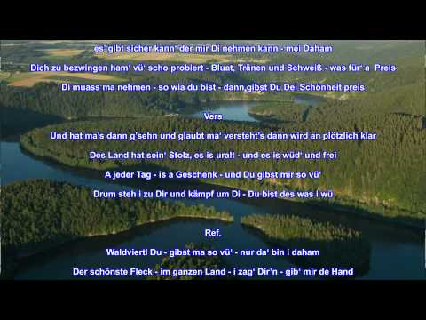 Daham   Ein Waldviertler Heimatlied