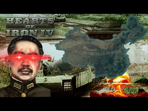 Sinkiang Taking Over China in late Game [Hoi4]