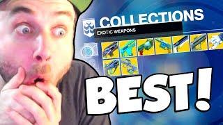 MY BEST EXOTICS! (Destiny 2) thumbnail