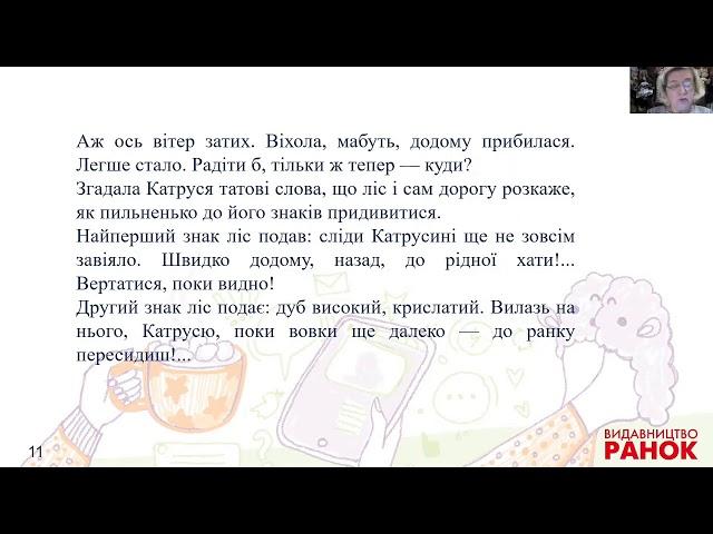 3 клас. Літературне читання. Баба Віхола. Марина Павленко (Частина 1)