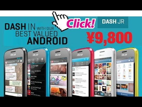 BLU Dash Jr. - Android V2.3 Smartphone