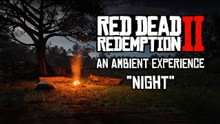 "Red Dead Redemption 2 Ambience - ""Night"" - 4K"