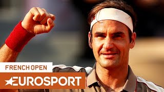 Roger Federer vs Stan Wawrinka Highlights | Roland Garros 2019 Quarter-Final | Eurosport