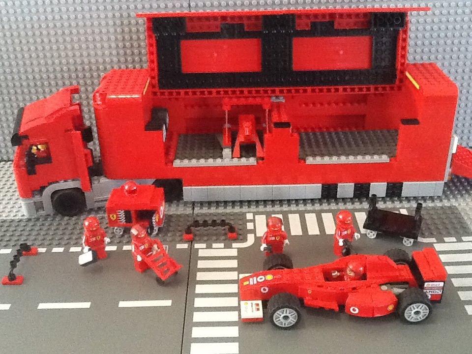 Ferrari Lego Car