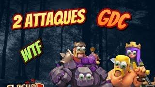 Clash Of Clans - 2 ATTAQUES EN GUERRE DE CLANS WTF !