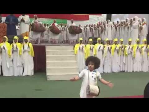 EOTC -- Must see this beautiful child singing with Zemari Tewodros Yosef