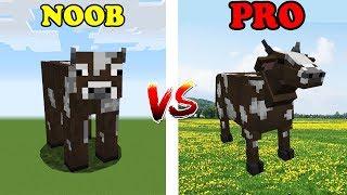 Minecraft NOOB vs PRO: ZWIERZĘTA W ZOO