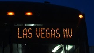 Video Greyhound Bus down West Coast: #7 Desert headlights--Barstow, California to Las Vegas NV 2015-04-10 download MP3, 3GP, MP4, WEBM, AVI, FLV Oktober 2017