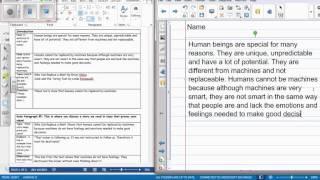 How do I write my rough draft?